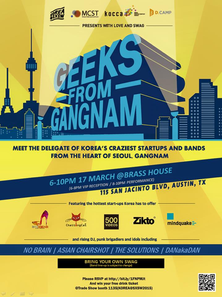 150317 SXSW Geeks From Gangnam